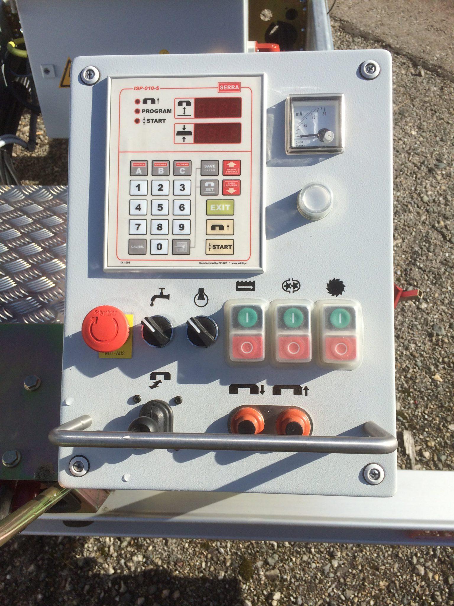 SERRA-POSI-Basic Computerized controls