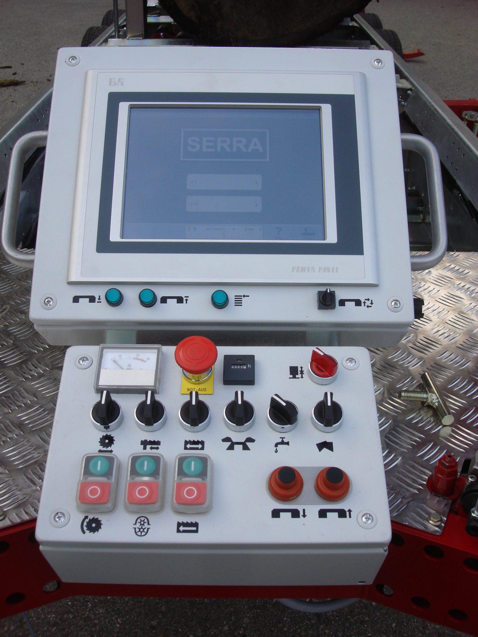 SERRA-POSI-Comfort Computerized controls